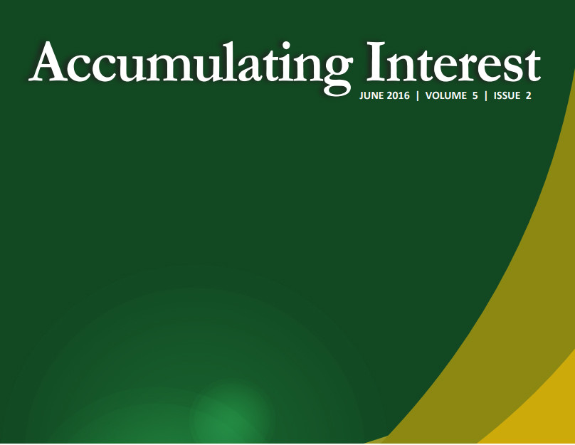 Accumulating Interest Newsletter 2nd Quarter 2016